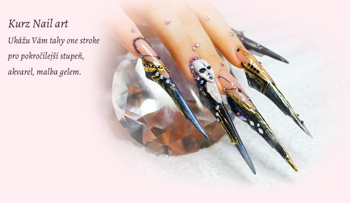 Kurz Nail art